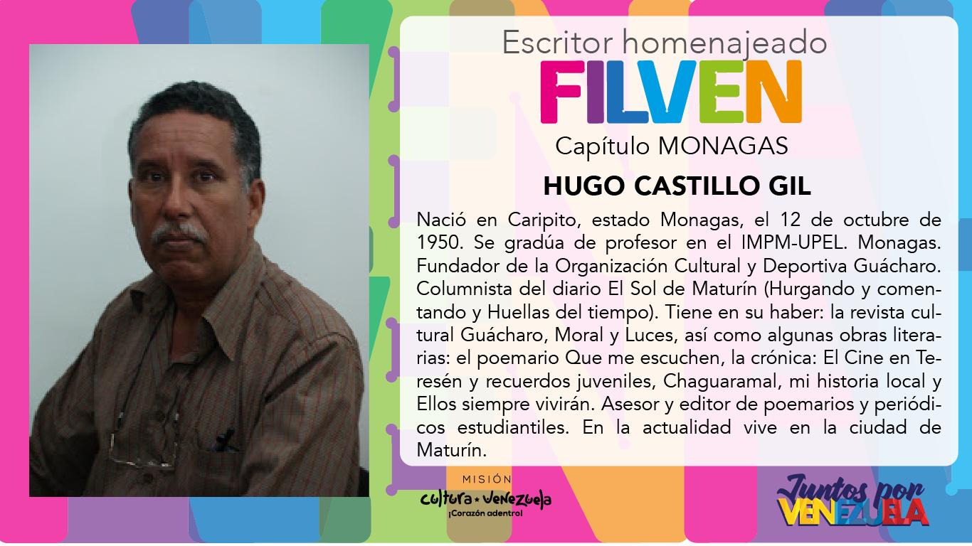 filven 2019 Monagas HomenajeadO