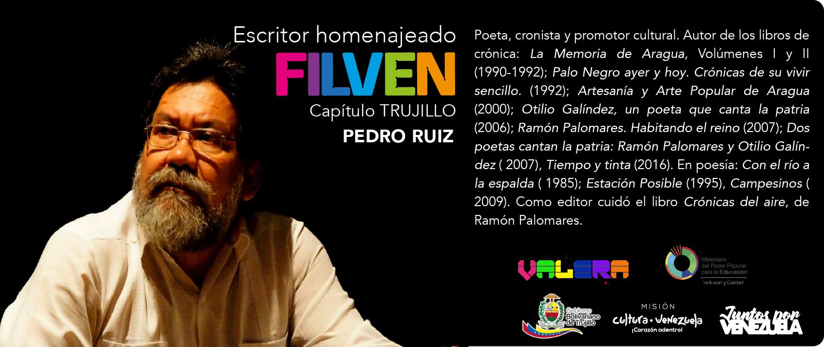 filven 2019 Trujillo homenajeado